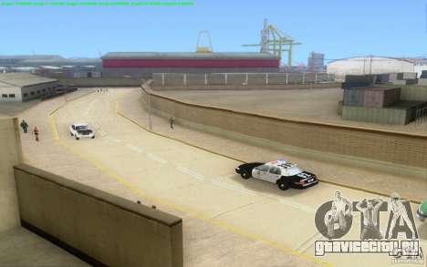 Бетонные дороги Лос-Сантос Beta для GTA San Andreas двенадцатый скриншот