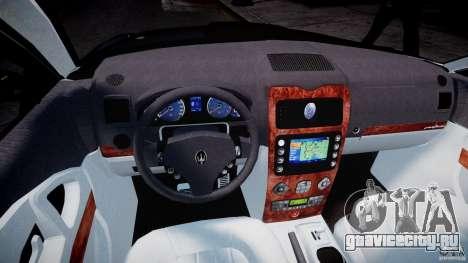 Maserati Quattroporte V для GTA 4 вид сзади