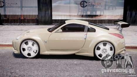 Nissan 350Z Veilside Tuning для GTA 4 вид сзади слева