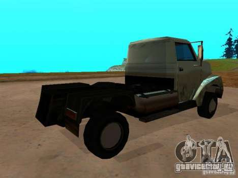 Yankee Truck для GTA San Andreas вид сзади слева