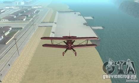 Extra 300L для GTA San Andreas вид справа