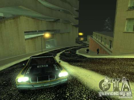 Снег v2.0 для GTA San Andreas