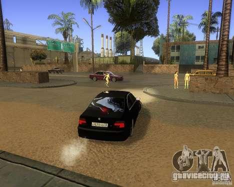 BMW 525i e39 для GTA San Andreas вид справа