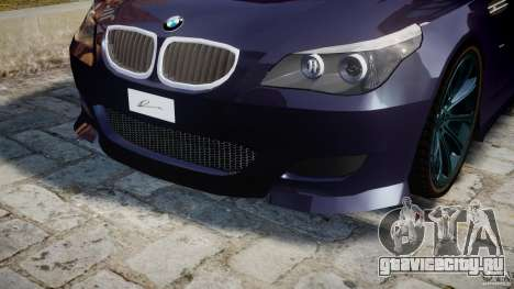 BMW M5 Lumma Tuning [BETA] для GTA 4 салон