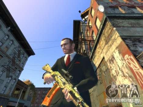 AK-47 для GTA 4 второй скриншот