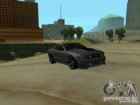 Ford Mustang GTS для GTA San Andreas вид слева