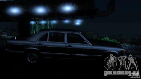 Mercedes Benz 560SEL w126 1990 v1.0 для GTA San Andreas вид сбоку