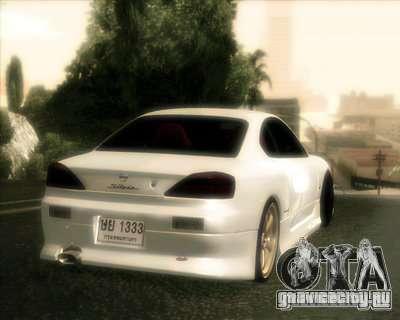 Nissan Silvia для GTA San Andreas вид сбоку