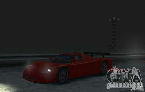 Maserati MC12 R для GTA 4 вид слева