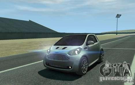 Aston Martin Cygnet 2011 для GTA 4