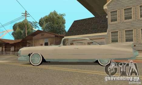 Cadillac 1959 для GTA San Andreas вид справа