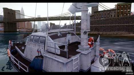 Russian PT Boat для GTA 4 вид изнутри