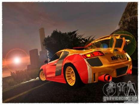 Audi R8 Calibri-Ace для GTA San Andreas вид слева