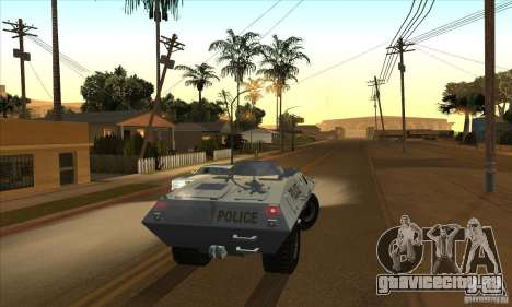 Enb Series HD v2 для GTA San Andreas одинадцатый скриншот