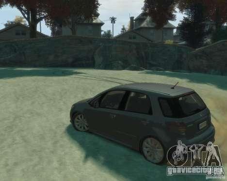 Suzuki SX4 Sport Back для GTA 4 вид слева