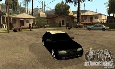 Lada ВАЗ 2114 LT для GTA San Andreas вид сзади