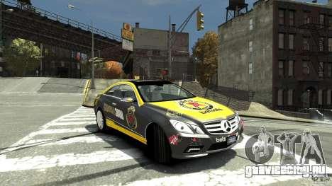Mercedes-Benz E 500 Coupe V2 для GTA 4 вид справа