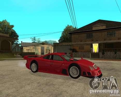 Mercedes-Benz CLK GTR road version для GTA San Andreas вид справа