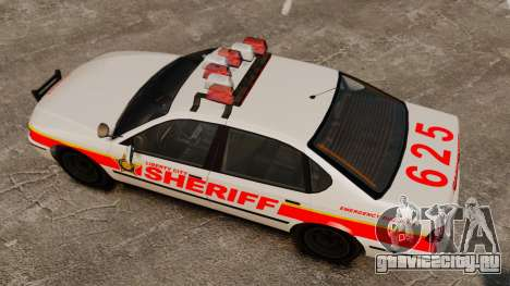 Новый Police Patrol для GTA 4 вид справа