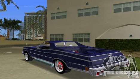 Chevrolet El Camino Idaho для GTA Vice City вид слева