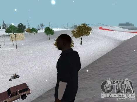 Snow MOD 2012-2013 для GTA San Andreas девятый скриншот