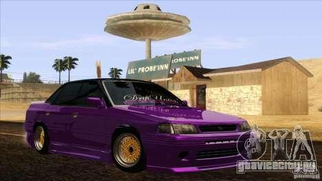 Subaru Legacy Drift Union для GTA San Andreas вид справа