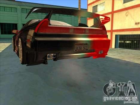 Acura NSX 1991 Tunable для GTA San Andreas салон