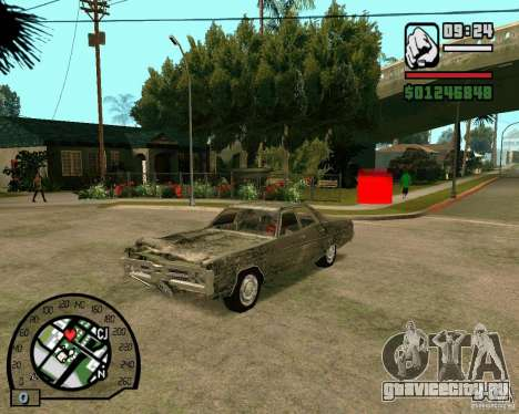 Plymouth Fury III для GTA San Andreas