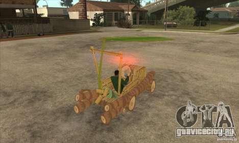 New Police Madagascar для GTA San Andreas вид справа