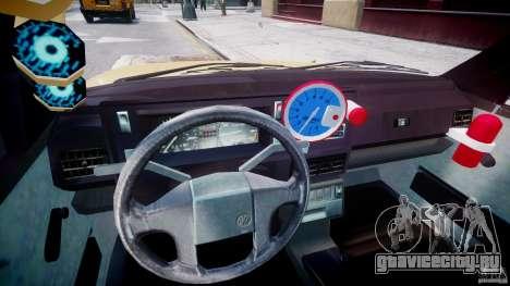 Volkswagen Golf MK2 Tuning для GTA 4 вид сзади