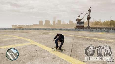 Скейтборд №1 для GTA 4 вид сзади слева