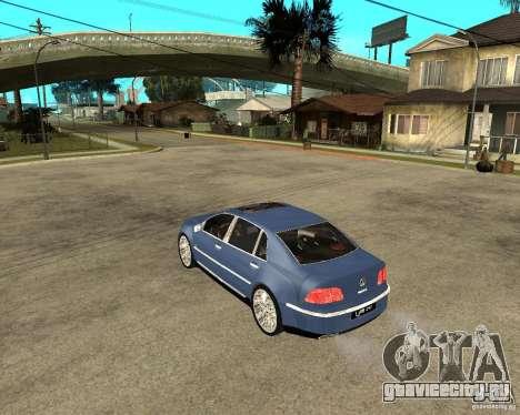 Volkswagen Phaeton для GTA San Andreas вид слева