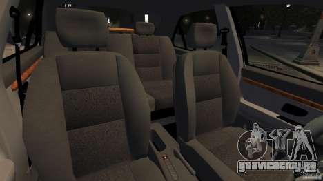 Peugeot 406 Taxi для GTA 4 вид изнутри