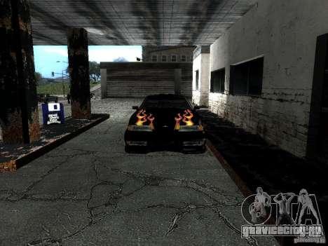 Винил Рэйзора из Most Wanted для GTA San Andreas вид сзади