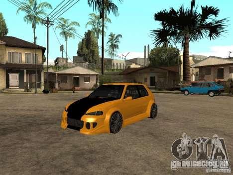 Peugeot 106 Tuning для GTA San Andreas