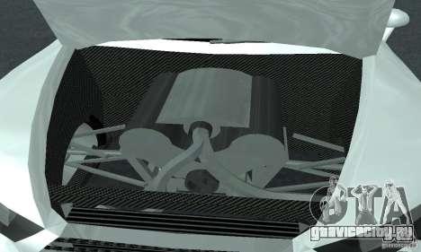 Audi Quattro Concept 2013 для GTA San Andreas вид изнутри