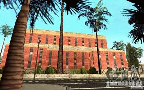 Новые текстуры для госпиталя в Лос Сантосе для GTA San Andreas пятый скриншот