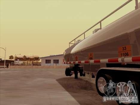 Прицеп к Kenworth T2000 для GTA San Andreas вид справа