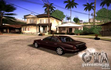 Jaguar Xj8 для GTA San Andreas вид слева
