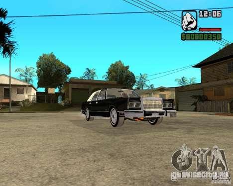 Lincoln Town Car 1986 для GTA San Andreas