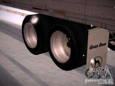 Trailer Artict1 для GTA San Andreas вид сзади