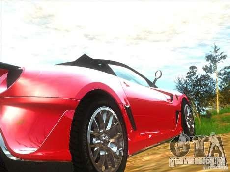 Ferrari 599XX для GTA San Andreas вид справа