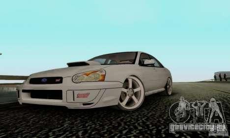 Subaru Impreza WRX STi TUNEABLE для GTA San Andreas