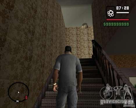 Замена всего дома CJея для GTA San Andreas третий скриншот