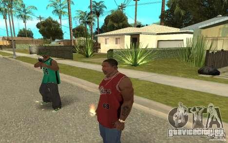 Grove Street Skin Pack для GTA San Andreas восьмой скриншот