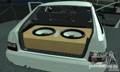 ВАЗ 2112 Tuning для GTA San Andreas вид сверху