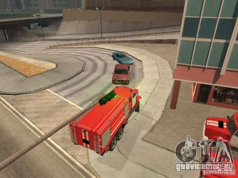ЗИЛ Пожарный для GTA San Andreas вид справа