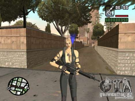 Sonya from Mortal Kombat 9 для GTA San Andreas