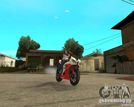 Yamaha YFZ R6 для GTA San Andreas вид сбоку
