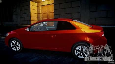 KIA Forte Koup для GTA 4 вид слева